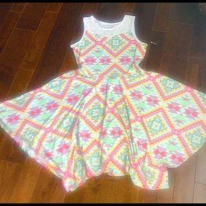 Geometric Swing Dress